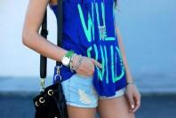 ripped Demin Shorts | Wild Child | Style my Fashion