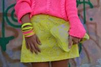 Rock in gelber Spitze | Gelbe Spitze | Style my Fashion