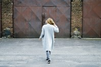 Hellgrauer Pullunder kombinieren: 'long grey cardigan' (Damen, Pullover / Sweater, grau, Bilder) | Style my Fashion