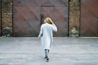Hellgrauer Pullunder kombinieren: 'long grey cardigan' (Damen, Pullover / Sweater, grau, Bilder) | Style my Fashion