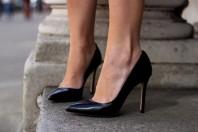 schwarze High Heel Pumps | Leopard Faces | Style my Fashion