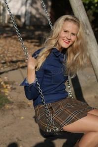 Blaue klassische Bluse kombinieren: 'Jeanshemd' (Damen, Bluse, blau, Bilder) | Style my Fashion