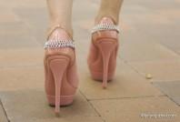 rosa High heels | Lavender Rain | Style my Fashion