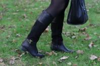 Schwarze Stiefel kombinieren: 'schwarze Stiefel ' (Damen, Schuhe, schwarz, Bilder) | Style my Fashion