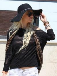 "schwarzes Langarmshirt | Gut ""behütet""! | Style my Fashion"