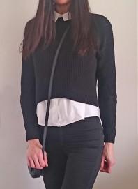 Kurzer Pulli   Cropped Sweater