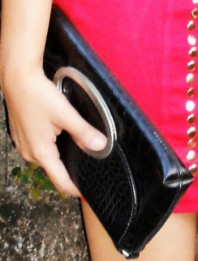 Clutch Bag | Bloody Mary | Style my Fashion