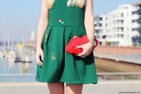 Grunes Klassisches Kleid Kombinieren Green Dress Damen Kleid Grun Bilder Style My Fashion