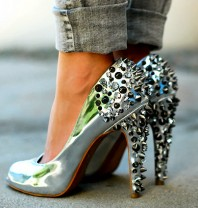 High heels | Bling bling | Style my Fashion