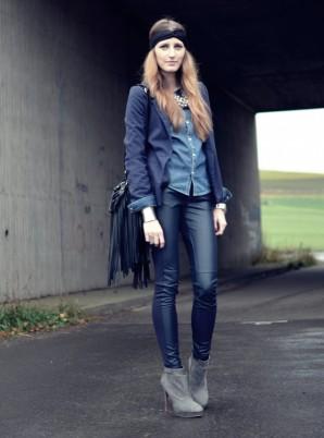 Blue on blue | Style my Fashion