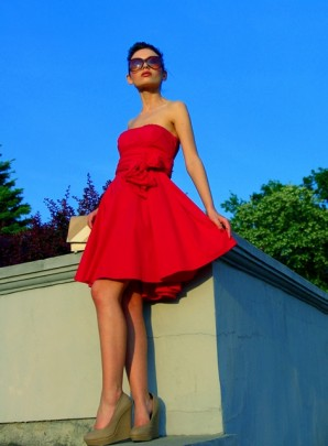 Little red dress   Style my Fashion