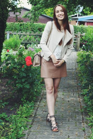 Brown Leather Skirt | Style my Fashion