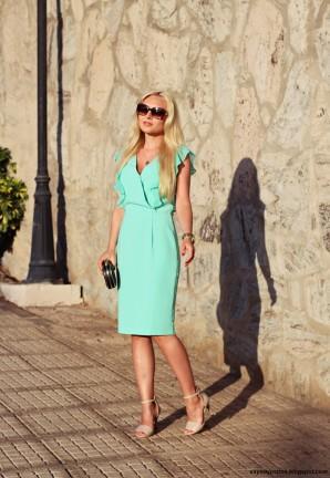 Mint dress   Style my Fashion