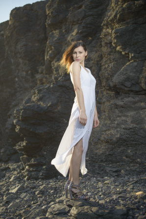 white long dress | Style my Fashion