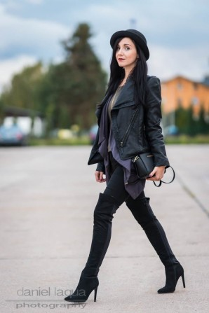 Layering and overknees | Style my Fashion