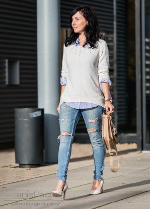 Pearls, pumps and denim | Style my Fashion