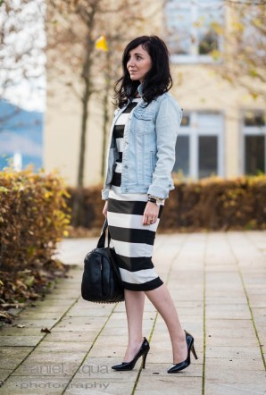 Stripes and denim | Style my Fashion