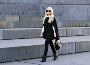 Black Cape | Style my Fashion