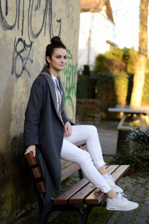Grey Coat | Style my Fashion