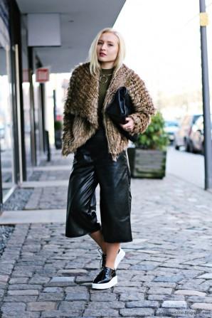 Culotte & Platform Shoes   Style my Fashion