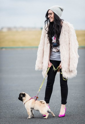 Fake Fur and Pugs | Style my Fashion