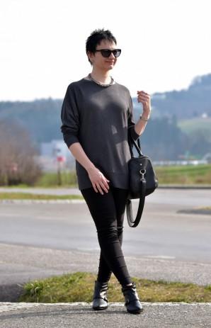 Anthrazit   Schwarz - Lena L. (Freizeit   Streetwear, Bilder ... e84ff4589d