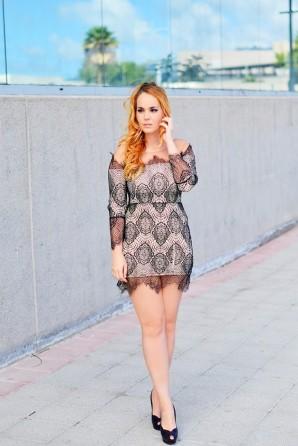 Deep Black Lace | Style my Fashion