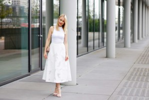 ALL WHITE SUMMER LOOK | Style my Fashion