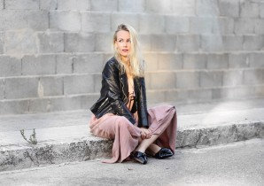 SLIPPER & LEATHERJACKET | Style my Fashion