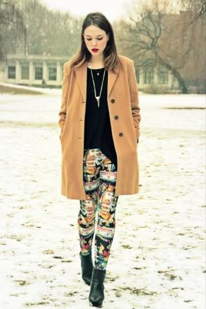 print leggings | Style my Fashion