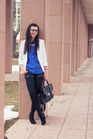 I'm feeling blue today | Style my Fashion