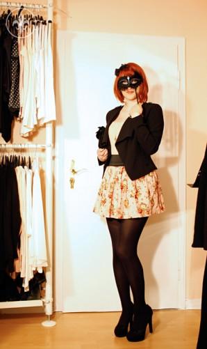 Creatio: Wasserfallblazer & Rosenmuster | Style my Fashion