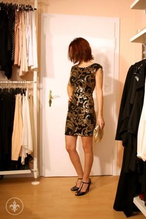 Das kleine Schwarze (und Goldene) | Style my Fashion