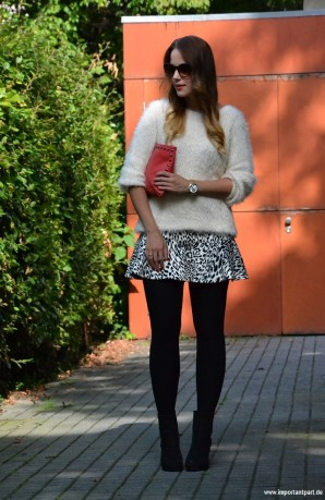 Leo Meets Tights | Style my Fashion