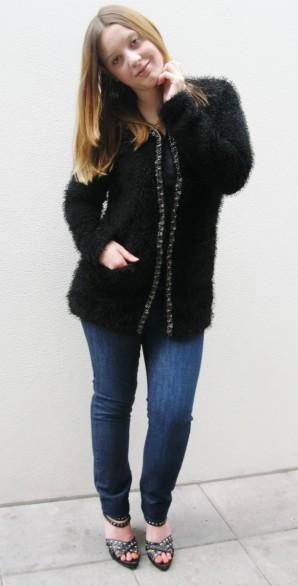 Fell Jacke und Jeans | Style my Fashion