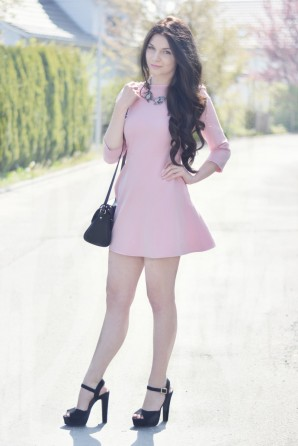 THE BABY PINK DRESS ♡ | Style my Fashion