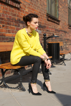 golden yellow | Style my Fashion