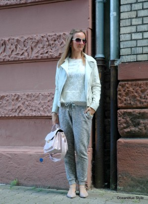 Elegance & Ease: Trackpants Neutrals | Style my Fashion