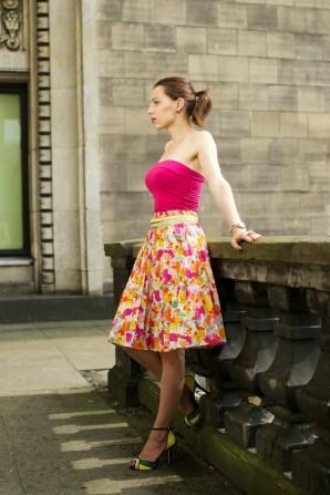 pleated midi skirt   Style my Fashion
