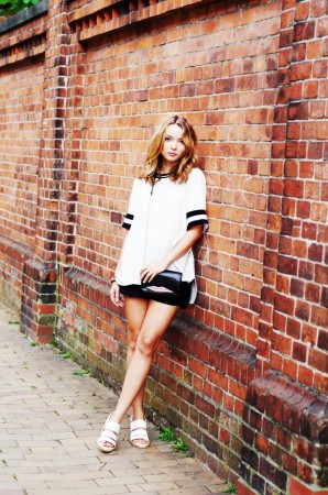 Sporty in Black & White | Style my Fashion