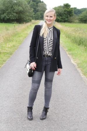 Stripes Blazer | Style my Fashion