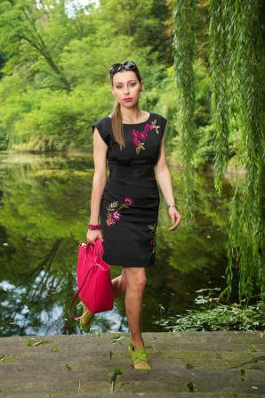 pink and green | Style my Fashion