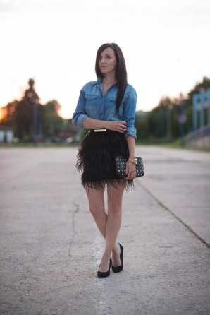 Jeans and Feathers | Style my Fashion