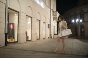 total white by night  | Style my Fashion