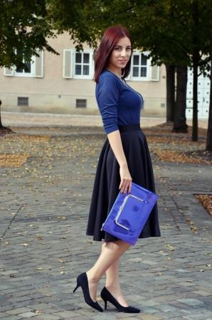 Neopren & blue | Style my Fashion