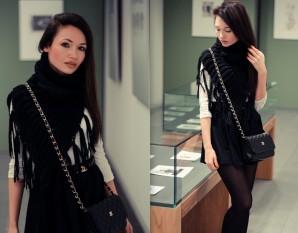 Poncho tube scarf | Style my Fashion