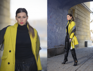 black and yellow   Style my Fashion
