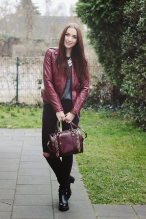 Red Leather | Style my Fashion
