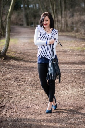 Fransen, Streife und Natur   Style my Fashion