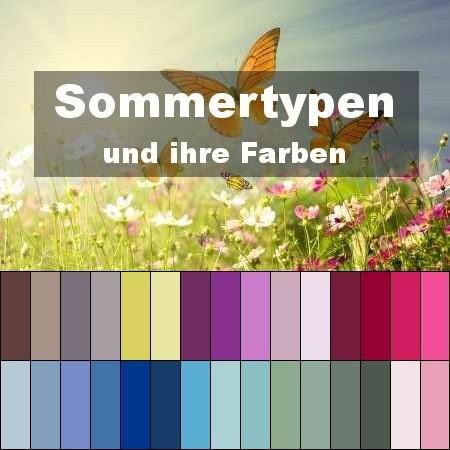 Die Sommertyp Farben Typberatung Style My Fashion